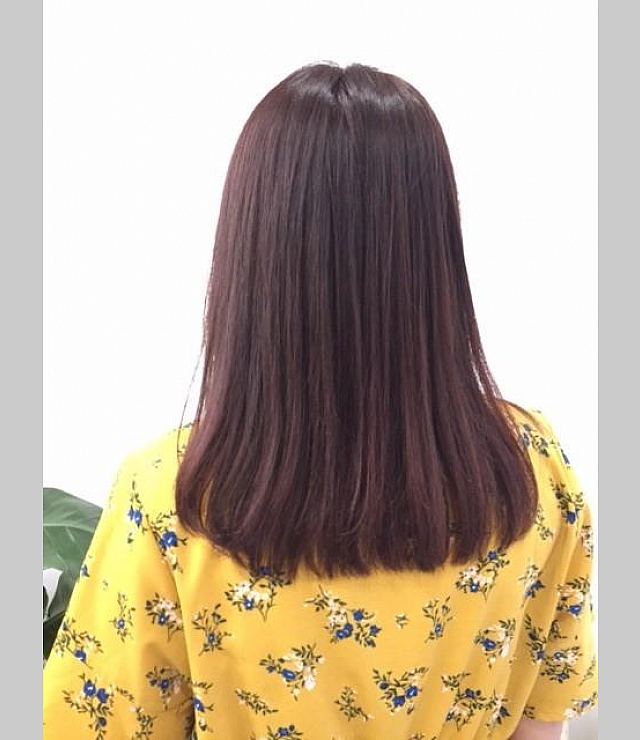 pink violet color☆straight hair☆LuvhairAlice